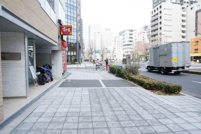 桜川駅からの経路
