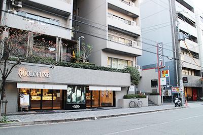 西長堀駅からの経路